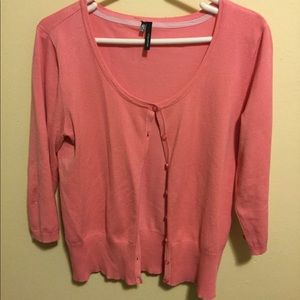 🌺  6 for $20 🌺 Coral cardigan